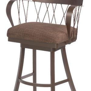 Strange Olivia Counter Height Stool Stoolhouse Bralicious Painted Fabric Chair Ideas Braliciousco